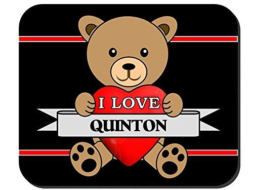 I Love Quinton Mouse Pad