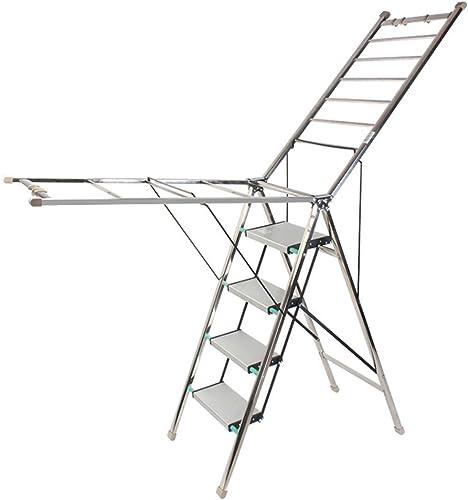 DQMSB Taburete Escalonado para el hogar Escalera multifunción Taburete Plegable Grueso Escalera para Uso Doble Escalera para Interiores Taburete