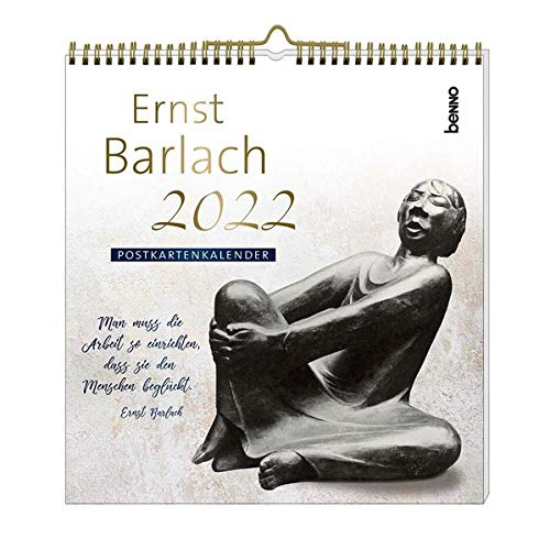 Ernst Barlach 2022: Postkartenkalender