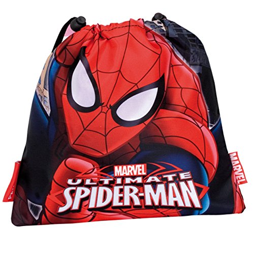 Spiderman Montichelvo 29974 Petit Sac de garderie Rouge/Bleu