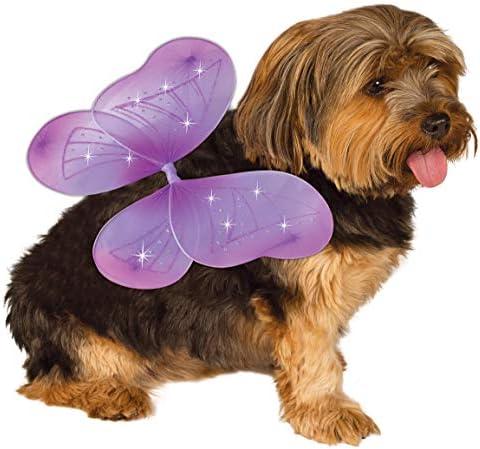 Rubie s Pet Costume Purple Fairy Wings Small to Medium product image