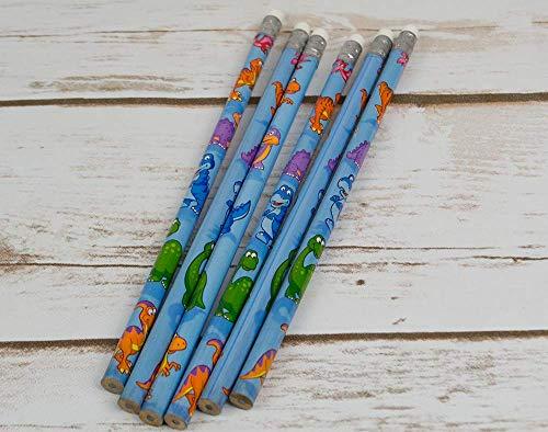PLAYWRITE Dinosaur Pencils 6pk