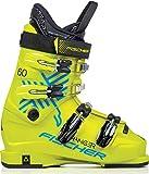 Fischer Sports Fischer Ranger 60 JR Thermoshape-Botas de esquí para niño, Color Amarillo, 25,5, Unisex niños
