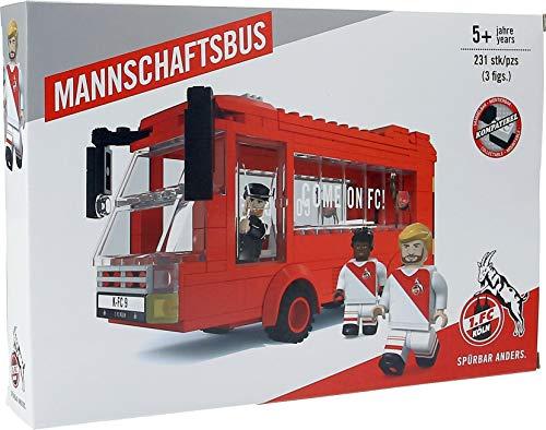 Unbekannt 1. FC Köln Bausatz/Bausteine ** Mannschaftsbus **