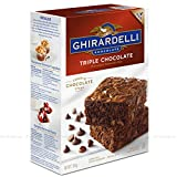 Preparado para tarta de Chocolate Triple Chocolate Brownie Mix 2.26kg Ghirardelli