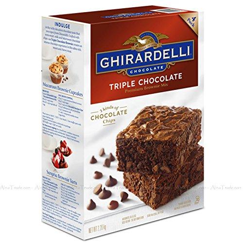 Ghirardelli Chocolate Triple-Chocolate Brownie Mix 2.26kg