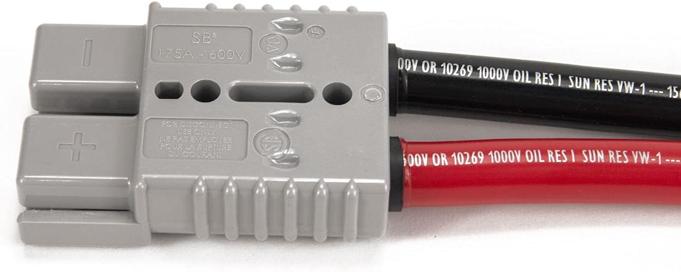 ストアー SEAL限定商品 Spartan Power 4 AWG 8 Foot Battery Anderson with Cable Connector