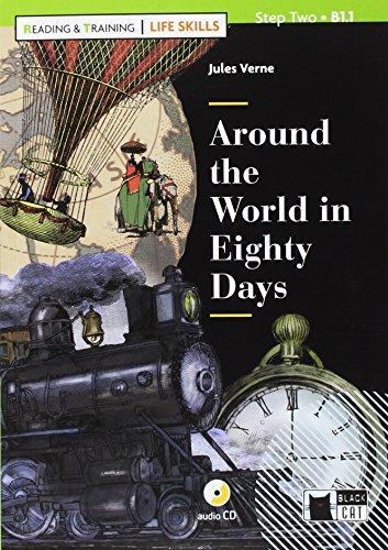 Around the world in eighty days. Con App. Con CD-Audio [Lingua inglese]: Around the World in Eighty Days + CD + App + D