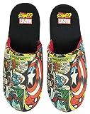 Zapatillas de poliéster multicolores Marvel Avengers hombres cómicos