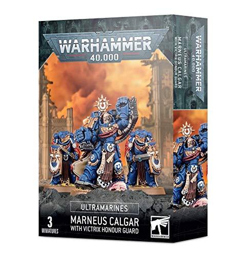 Games Workshop Warhammer 40k - Ultramarines Marneus Calgar Avec Garde d'Honneur Victrix