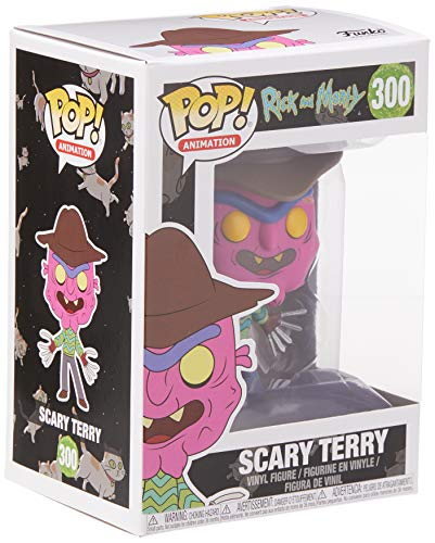 Funko Pop Scary Terry (Rick & Morty 300) Funko Pop Rick & Morty