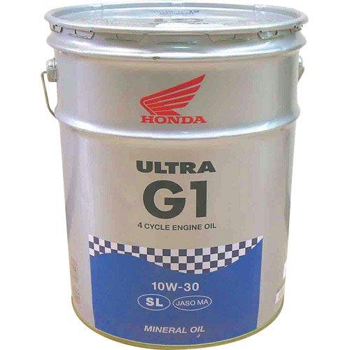 Honda(ホンダ) 2輪用エンジンオイル ウルトラ G1 SL 10W-30 4サイクル用 20L 08232-99967