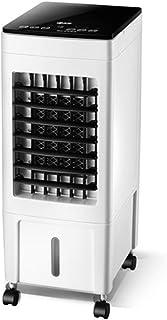 Móviles Evaporativos Ventiladores Aire Acondicionado Doméstico Ventilador Refrigeración Humidificación 8L Tanque De Agua 8H Temporizador 3 Velocidades 3-Viento Enfriador De Aire