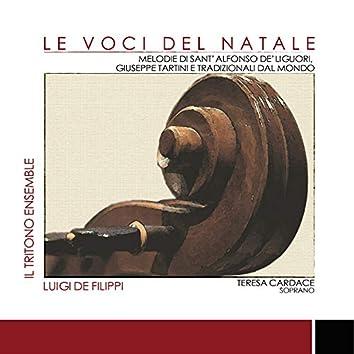Le Voci del Natale - Melodie di Sant'Alfonso Dé Liguori, Giuseppe Tartini e tradizionali dal mondo