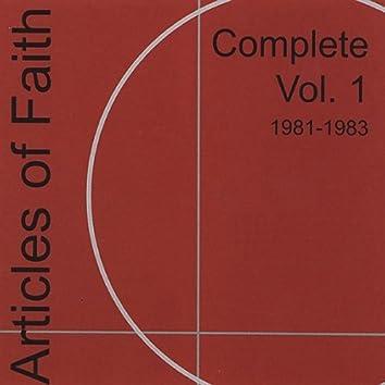 Complete Vol. 1 1981-1983