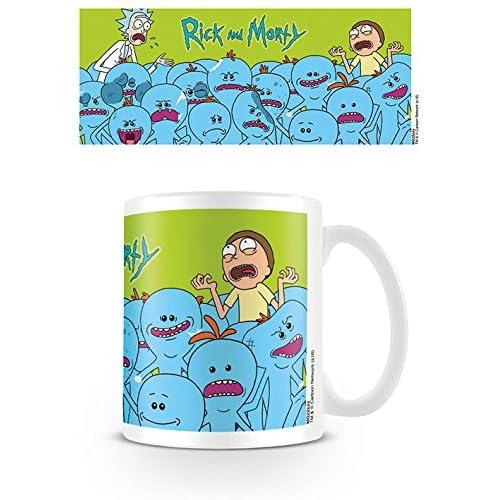 Pyramid International Rick & Morty Mug Tazza in Ceramica Rick &Amp Morty Mr. Meeseeks, Multicolore, Unica