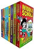 James Patterson Middle School 8 Books Collection Set