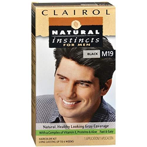 Natural Instincts For Men Haircolor M19 Black 1 Each
