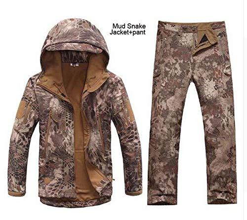 HANGON Clothing Soft Shell Lurker V 4.0 Veste militaire d'extérieur + uniforme Pantalon S Kryptek Desert