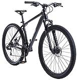 BIKESTAR Bicicleta de montaña Hardtail de Aluminio, 21 Marchas Shimano 29' Pulgadas | Mountainbike con Frenos de Disco Cuadro 19' MTB | Azul