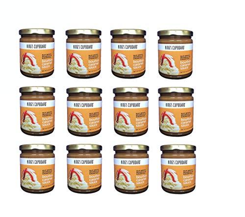 King's Cupboard-Bourbon Caramel Sauce, 12 Jar Case Pack