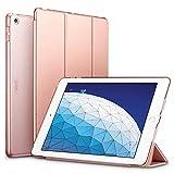 ESR iPad Air 2019 ケース iPad Air3 10.5インチ カバー 軽量 薄型 レザー オートスリープ機能 三つ折りスタンド スマートカバー 2019年発売の10.5インチ iPad 対応(ローズゴールド)