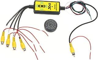 Decdeal Intelligent Video Switcher 4 to 1 Wireless Car Video Switcher