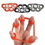 5BILLION ハンドグリップ 握力トレーニング 指ストレッチャー 指エクササイズ 筋力トレ 指の強化 指のリハビリ (3つのPS指ストレッチャー)
