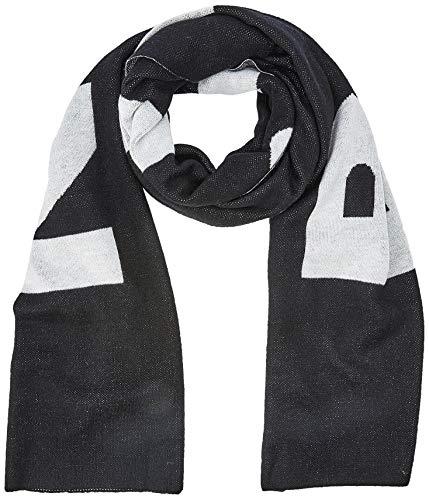 Liebeskind Damen S6189530 mix Schal, Schwarz (Black 9999), One Size (Herstellergröße: N)