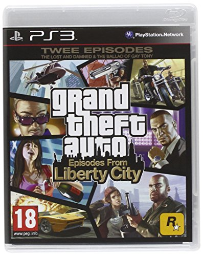 GTA 4 EPISODES FROM LIBERTY CITY PS3 UK