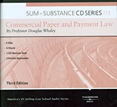 Sum and Substance Audio on Commercial Paper and Payment Law