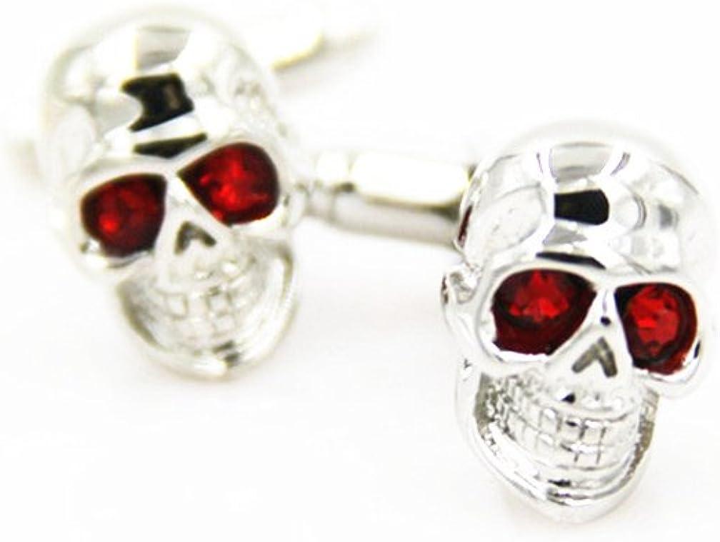 shop MT Men's Skull Cufflinks Plating Links Cuff Pair 1 Copper Over item handling ☆