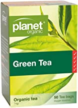 Planet Organic Green Tea 50 Teabags