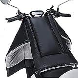 Cubierta de la Pierna de la Motocicleta Cubierta de la Pata de la Manta de la Rodilla for Las Scooters la protección del Viento de la Lluvia Impermeable Manta Manta Impermeable Acolchado