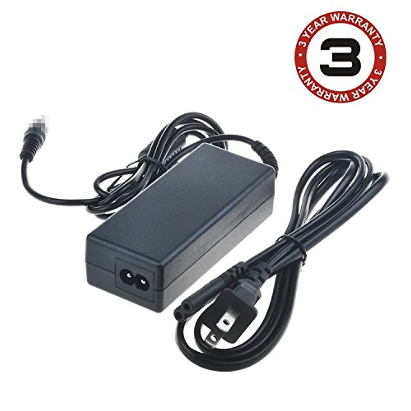SLLEA AC/DC Adapter for Broksonic CCVG1440 LCD TV/DVD Combo Power Adapter AC/DC Charger Supply Cord Plug mocrqdmjdwo155