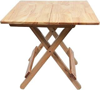 HX Table Pliante Table À Manger Maison Chêne Table Généreuse Simple Simple Table Carrée Portable À Manger A+ (Taille : 70...