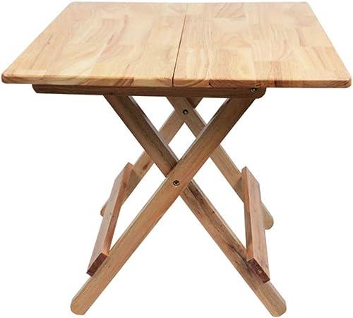 Table pliante ZB Table à Manger Maison Chêne Table Généreuse Simple Simple Table Carrée Portable à Manger A+ (Taille   70  70cm)