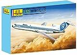 Heller - 80447 - Construction Et Maquettes - Boeing 727 - Echelle 1/125ème