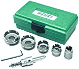 Greenlee - Carbide Cttr, Quick Chge, 6Pc, Hole Making (660)
