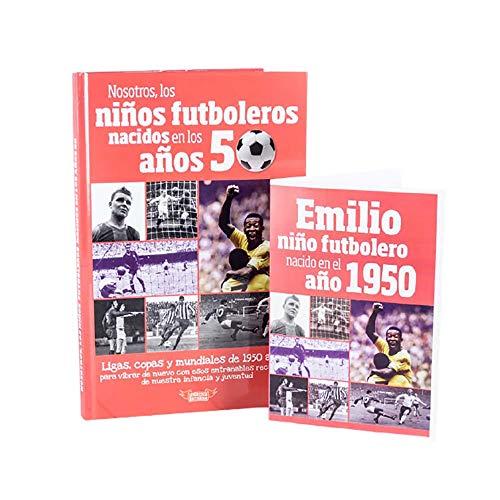 Regalo personalizado: Libro Nosotros, los niños futboleros. con tarjeta personalizada con nombre y dedicatoria