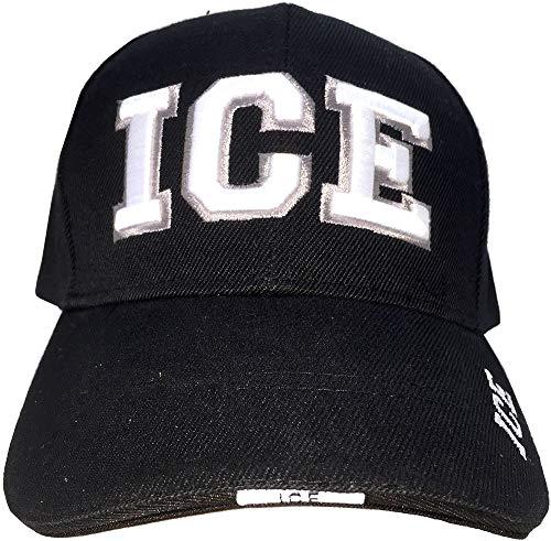 AborenCo I.C.E Immigration & Customs Enforcement Police Officer Gear 3D Bestickte Baseballmütze