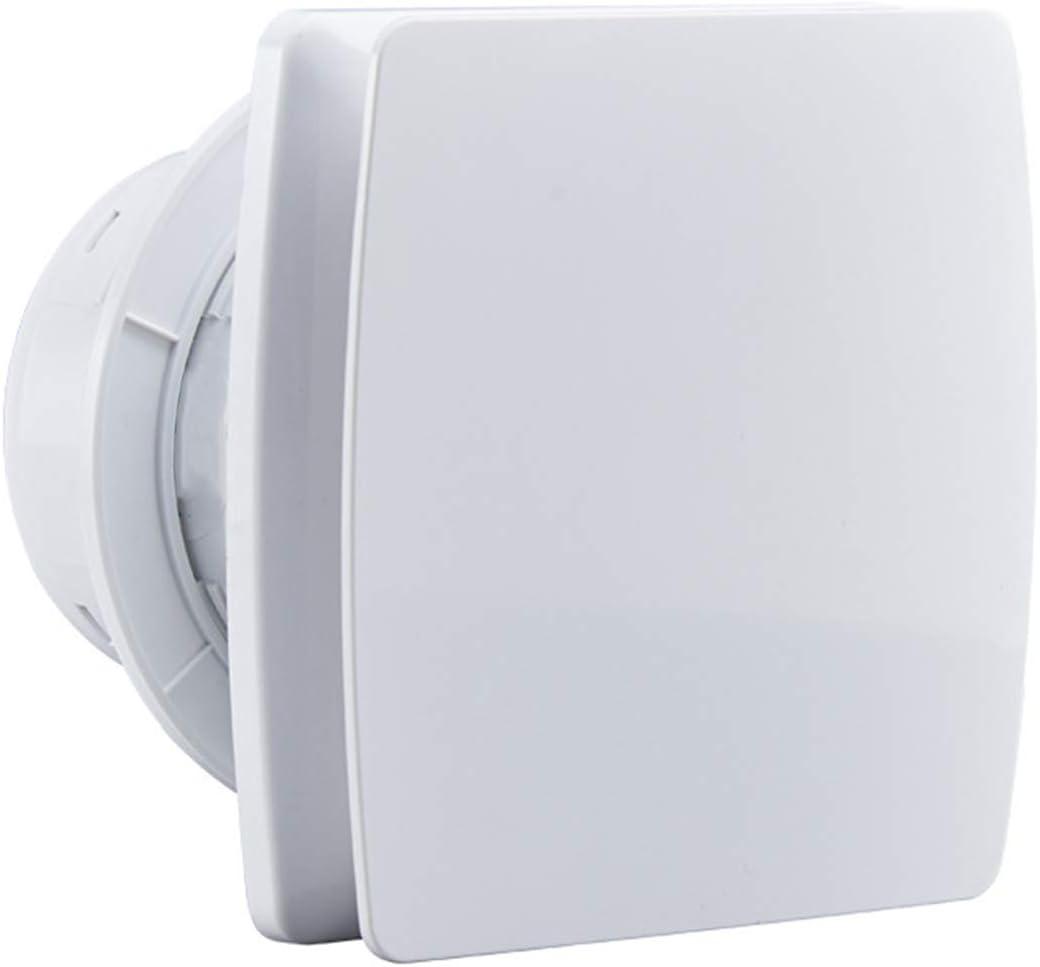 Starsmyy Extractor De Aire con Válvula Antirretorno De 100 mm De Diámetro para Baño Y Cocina Bajo Consumo De Energía 12W Funcionamiento Silencioso 34dB Y Alta Eficiencia 95m3/h