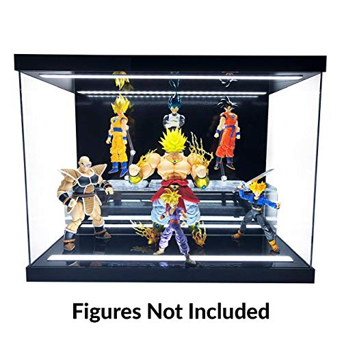 Elite E-04 Gloss Black Action Figure Display Case