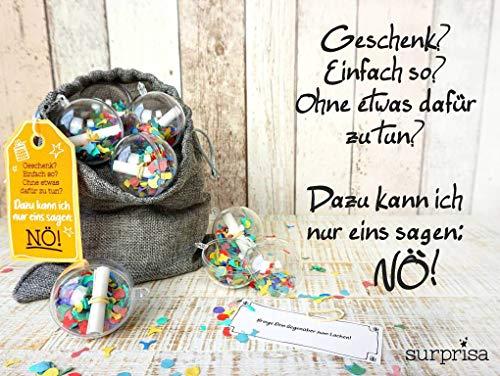 Neuheit: Originelle Geschenkverpackung + Rätselspiel + Geschenkidee: Ideal für Gutscheine und Geldgeschenke zu Geburtstag, Weihnachten & Jahrestag – Wiederverwendbar - 5
