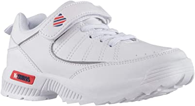 K-Swiss Tenis One 103 02.0 Escarpines para Unisex niños, Color Blanco, 21