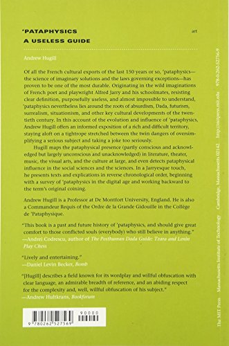 Pataphysics – A Useless Guide (The MIT Press)