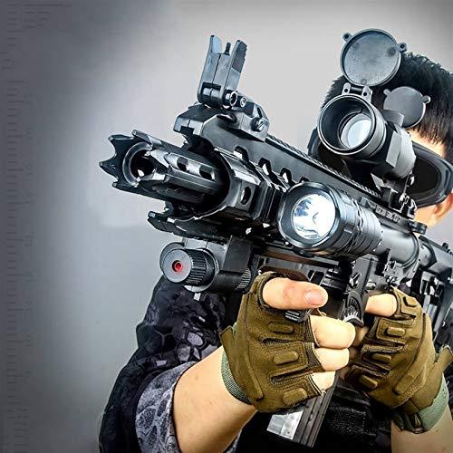 CLNAONG Toy Gun, Children's Gift Toy Water Gel Ball Gun Assault Rifle Outdoor CS Shooting Games Electric Manual Gun Safe and Fun AR15 for Kids (Color : Electric Verison)