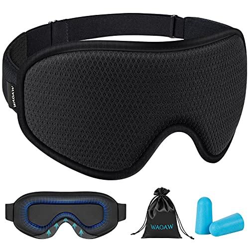 WAOAW 3D Sleep Mask Eye Mask for Sleeping
