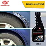 UE Elite Rubbing Compound Cleaner/Scratch Remover For All Vehicle,Quickly Removes Oxidation,Scratches & Stains