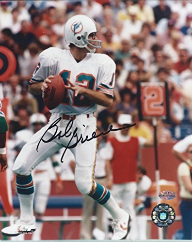 Bob Griese Miami Dolphins NFL Hand Signed 8x10 Photograph